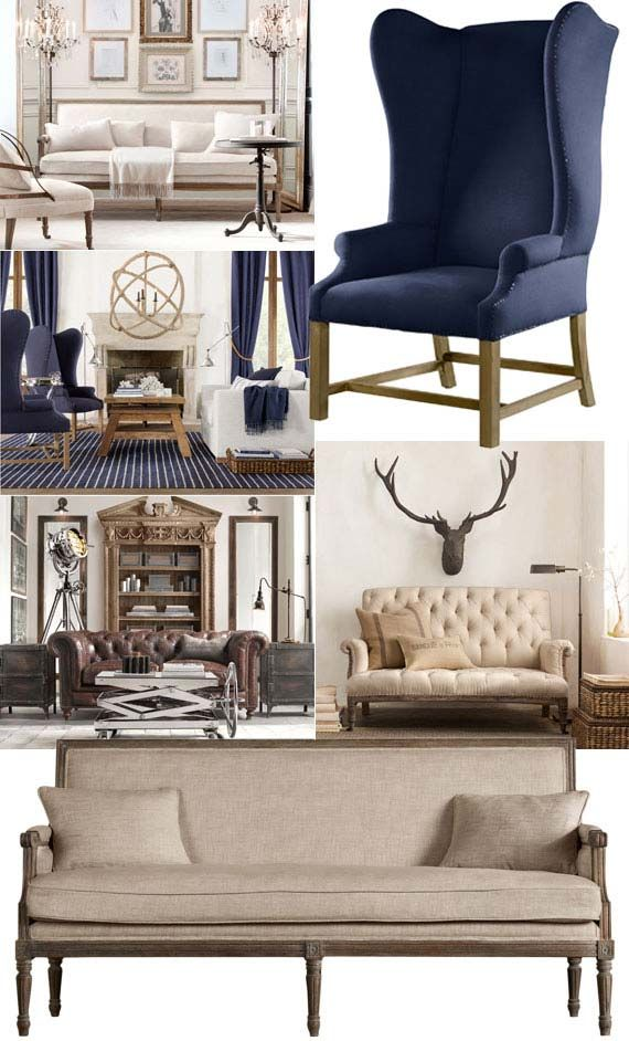 83 best images about restoration hardware livingroom on 52726