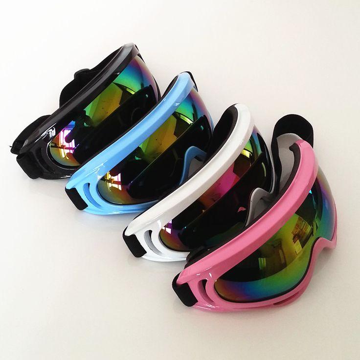 New Outdoor Skiing Eyewear Windproof Glasses Ski Goggles Dustproof Snow Glasses Women Motocross Riot Control Downhill