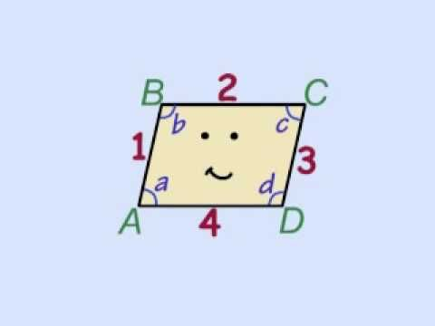 Peter Weatherall's songs are so catchy that even my preschooler loves them and learns from them. Children of all ages will learn about parallelograms after watching this video. Be sure to explore Peter Weatherall's other You Tube videos on many different math and science topics. http://www.youtube.com/user/peterweatherall