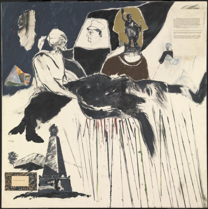 R.B. Kitaj, 'The Murder of Rosa Luxemburg' 1960
