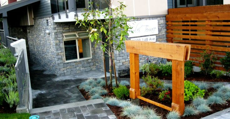 New Construction Paved walkway in Delta, BC