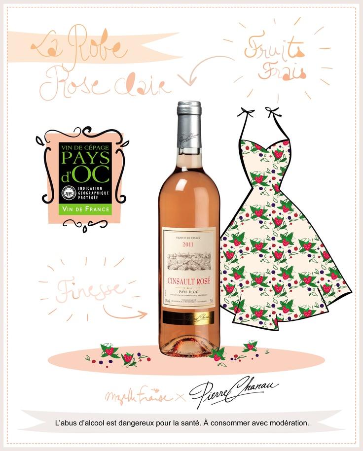 Découvrez le reste de la collection sur : https://www.facebook.com/Pierre.Chanau/app_373065719403295?ref=ts #mode #robe #summer #dress #wine