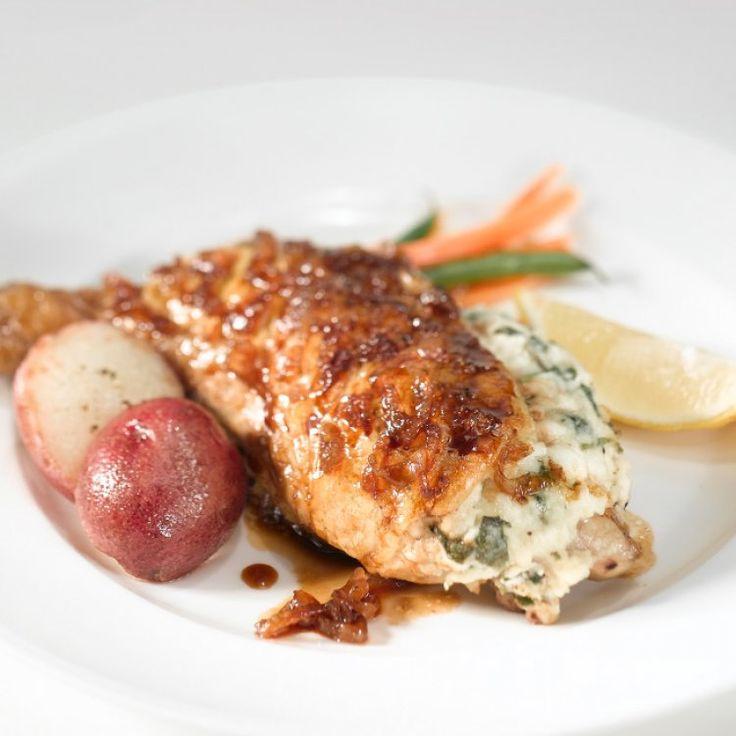Cuisses de poulet farcies au Oka
