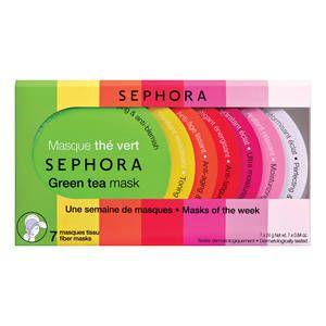 Kit 7 Masques Tissus Sephora - http://www.sephora.fr/Soin-Visage/Masques-Gommages/Masques/-Kit-7-Masques-Tissus/P2317033