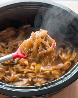 March SIPIDI! over at My Simple Life ~ Caramelised onions in the slow cooker