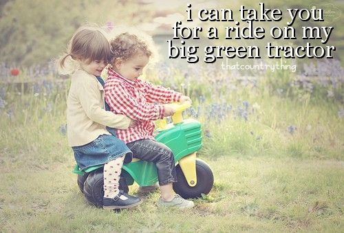 peace, love, country. (:: Big Green, Tractors, Country Girl, Quote, Country Music, Country Life, Greentractor, Jason Aldean