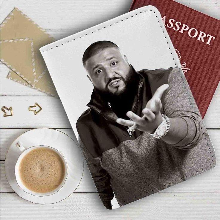 DJ Khaled Leather Passport Wallet Case Cover