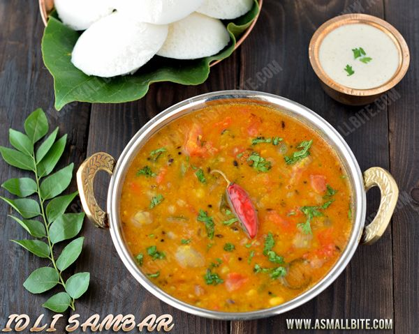 Idli Sambar recipe / Instant Sambar for idli is an instant version which can be prepared under 30 mins and is heavenly combo with hot steaming idli's.