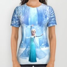 frozen All Over Print Shirt