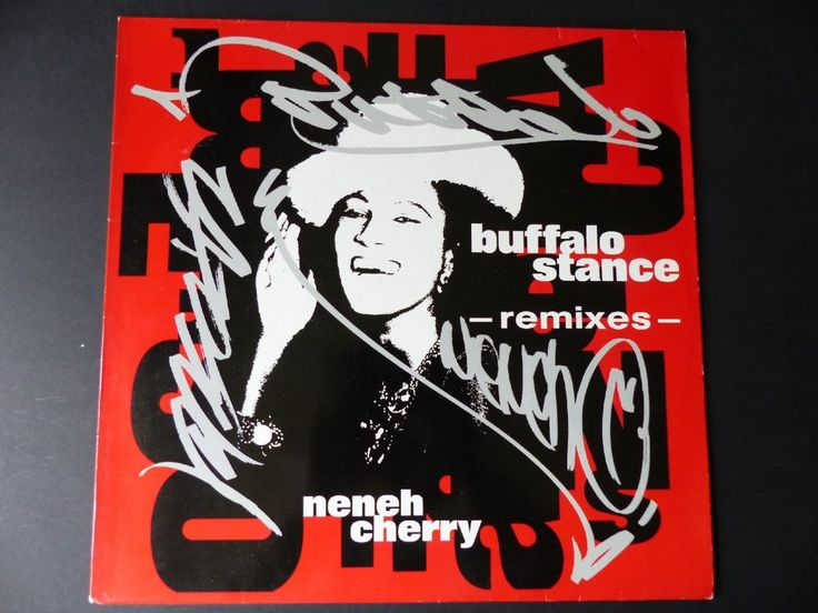 NENEH CHERRY - Buffalo Stance (Remixes) / 1989