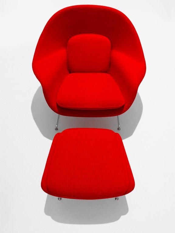 Eero Saarinen – The Womb Chair