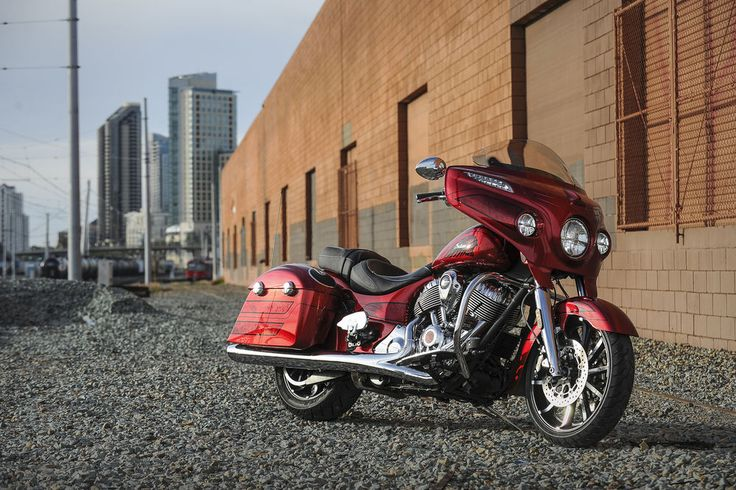 2017 Chieftain Elite custom Fireglow Candy Red Paint