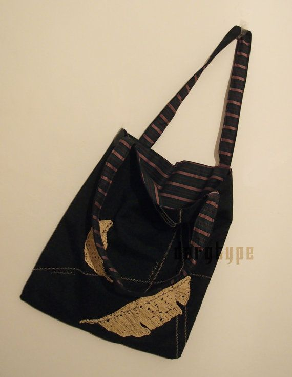 feather bag by Dargtype