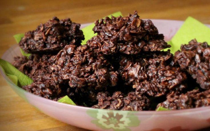 Recette : Macarons au chocolat et noix de coco.