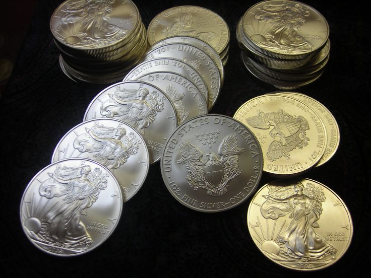 Gold and Silver bullion coins