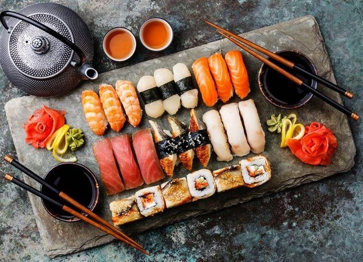 To sushi εκτός από πεντανόστιμο είναι και νηστίσιμο!