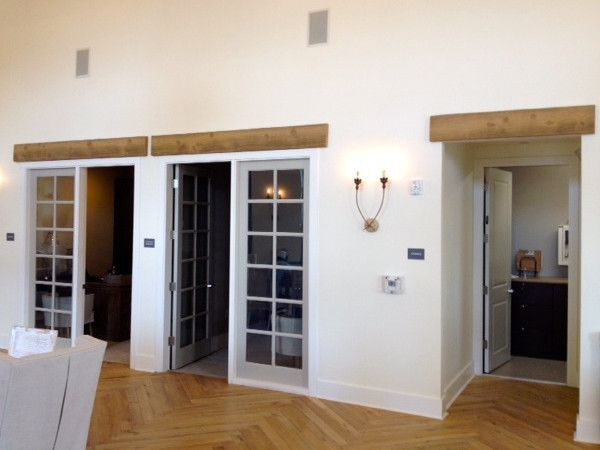 Beam At Doorway Modern Home Google Search In 2020 Faux Wood Beams Wood Beams Faux Wood