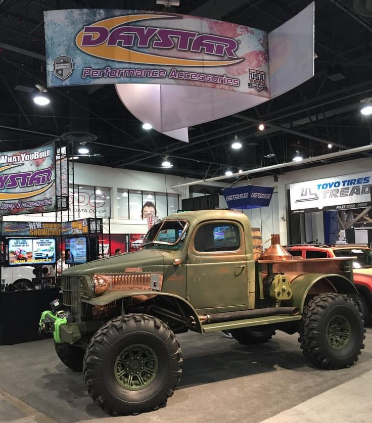 Dodge Power wagon Moon shine truck