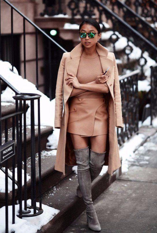 Ботфорты на каблуке: с чем и как носить