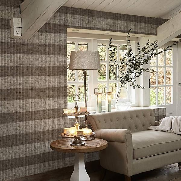 Riviera Maison Rustic Rattan Stripe 18320 behang van de behangwinkelier