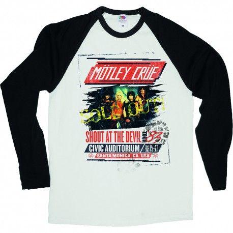Tricou maneca lunga Motley Crue: Shout at the Devil Tour Poster