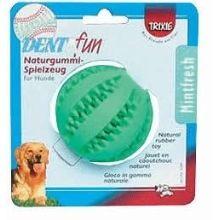DentaFun míč s mátou 7 cm Trixie