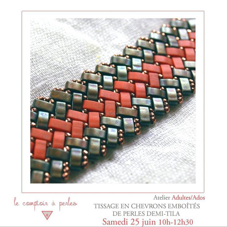 "NOUVEL ATELIER - Apprenez le tissage des perles ""demi-tila"" cette semaine, résultat étonnant et élégant garanti! Tout le programme et réservation: lien dans la bio 💠 #lecomptoiraperles #perles #beads #perlesMiyuki #Miyuki #tila #half-tila #Miyukibeads #Miyukiaddict #loom #beadloom #atelier #workshop #beading #handmade #handmadejewelry #fashion #couleurs #colors #bijouxdecreateur #paris #boheme #bohemechic #creation #creativity #DIY #bracelet #instajewels #jewelslovers…"