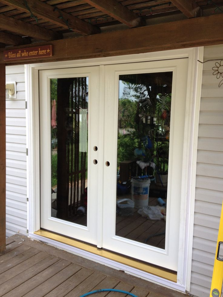 Image result for patio french doors with screens