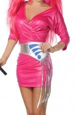 Jem and the Holograms Cosplay Costume(CWHA503921) - coswigshop.com