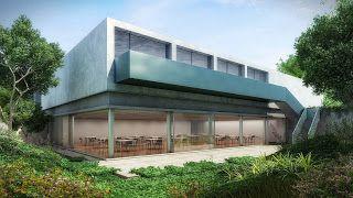 rendering freedom: Isay Weinfeld apresenta Centro Cultural do Instituto Ling em Porto Alegre
