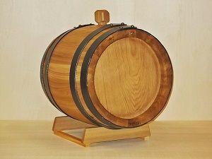 1964 - Caratello in legno da 20 litri per invecchiamento grappa, nocino, distillati, vin santo e vino cotto - Tel.0547 310171