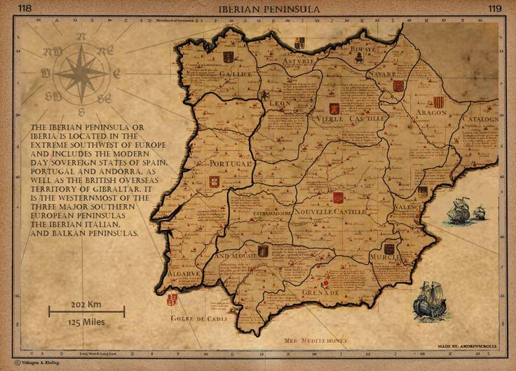 Iberian Peninsula, 1705