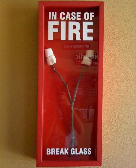 In Case of Fire....smores!