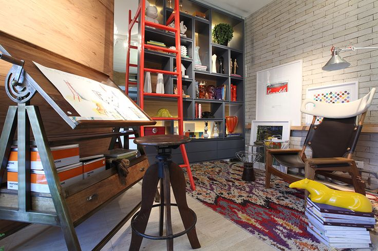 Casa Cor 2014 - Sala de Leitura do Arquiteto