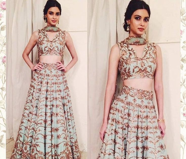 Diana Penty # lehenga # Indian wear # wedding # 2016