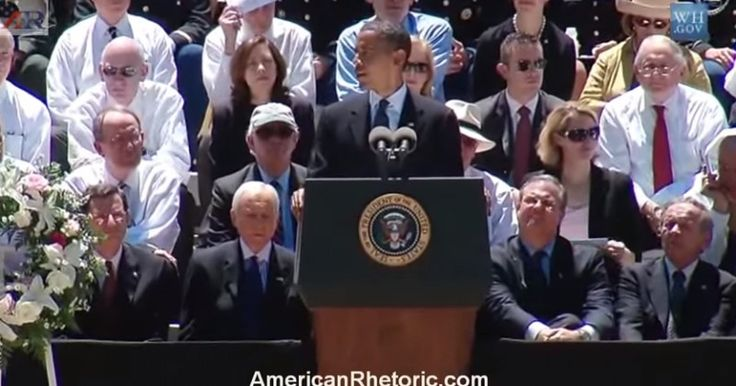 VIDEO: Obama giving a eulogy for KKK grand wizard Robert Byrd - Skips SCOTUS funeral
