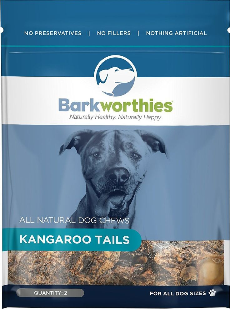 Barkworthies Natural Kangaroo Tails are an all-natural chew for dogs made of free-range Australian kangaroo. Completely digestible and hypoallergenic, this treat is perfect for dogs with allergies or sensitive stomachs. Low in fat and high in antioxidants, these Kangaroo Tails are a natural source of nutrients like iron, zinc and Vitamins B6 and B12. Chewing on Kangaroo Tails is also a great way to promote good doggy dental hygiene! As always, Barkworthies features a full line of all-natural…