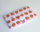 Business / Credit Card Case - Go By Bike with Button