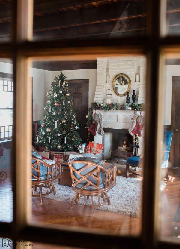 Vintage Rustic Christmas Decorating East Coast Creative 2 20