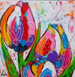 Tulips by Liz ( Renate Rolefes and Corrie Leushuis)