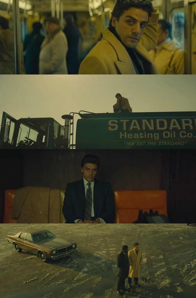 "yellow tones in ""A Most Violent Year"" (2014) Directed by: J.C. Chandor; Cinematography by: Bradford Young #FilmmakingTricks"
