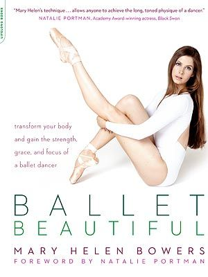 Ballet Beautiful Workout. I bet this would go with the bootie ballet classes at Rowan!