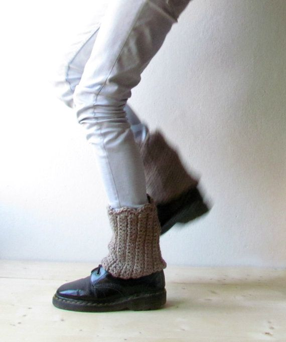 Boot cuff - Camel leg warmers - Rustic clothing - Fashion accessory - CHOOSE YOUR COLOR on Etsy, $19.58 CAD