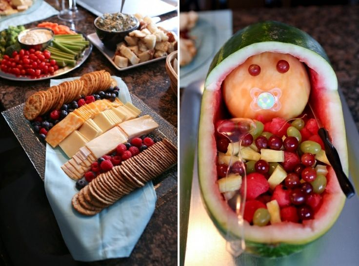 Food Ideas Gender Reveal Party