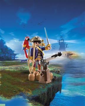 Playmobil Αρχηγός Πειρατών (6684) 4,99
