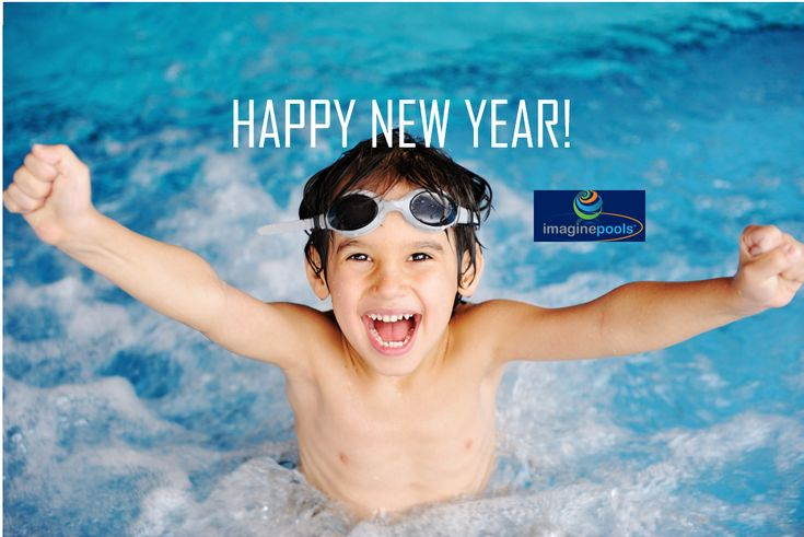Happy New Year from Imagine Pools.  Is this your year for a new fiberglass swimming pool?