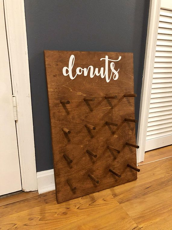 Wedding Donut Wall Doughnut Stand Donut Board Wedding Donut Display Board Donut Holder