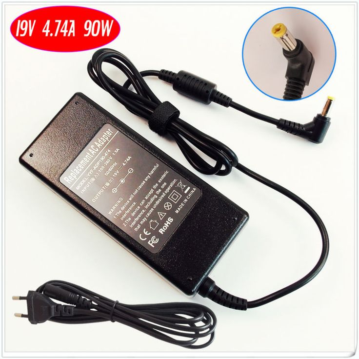 For Acer Aspire 4820 4920 4930 5000 5100 5570 5611 5739 9110 Laptop Battery Charger / Ac Adapter 19V 4.74A
