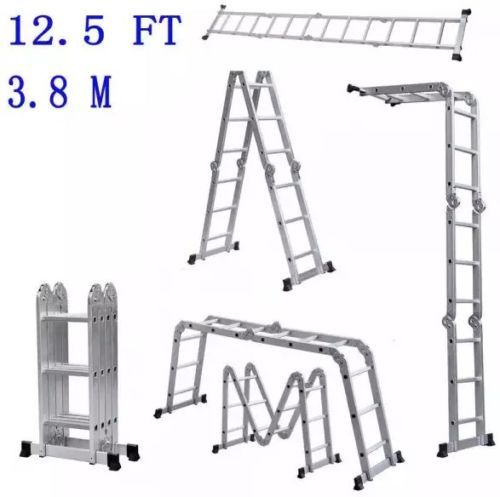 Ladder-Aluminum-Multi-Extension-Purpose-Folding-Werner-Scaffold-Fold-Step-Extend