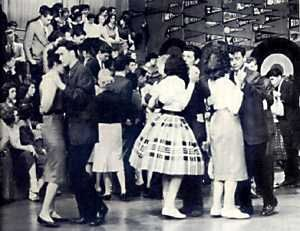 American Bandstand. Dick Clark became the host July 9, 1956